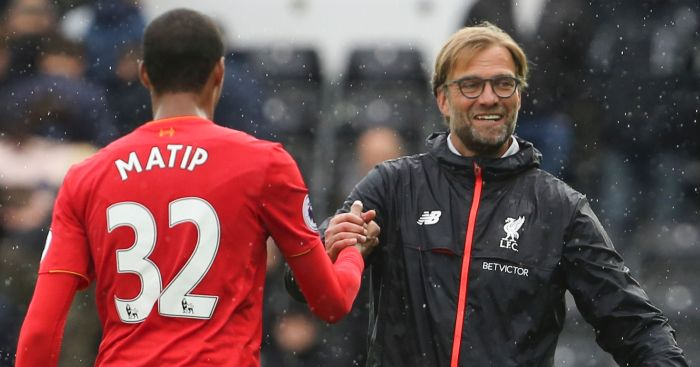 Joel Matip: Set to return
