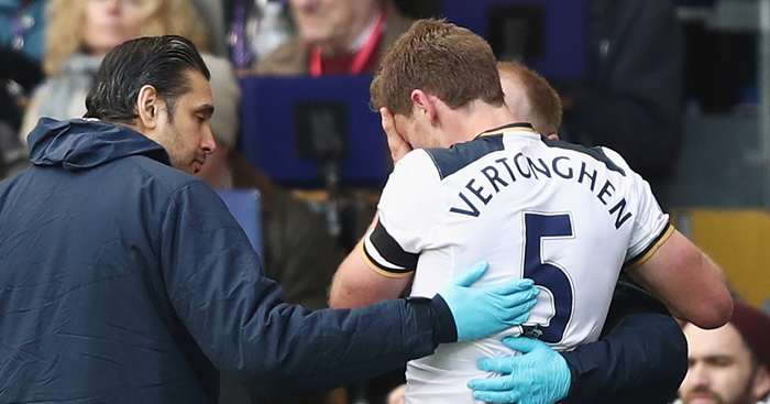 Jan Vertonghen: Awaiting injury news
