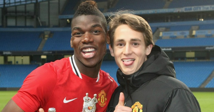 Paul Pogba: Retains close friendship with Adnan Januzaj