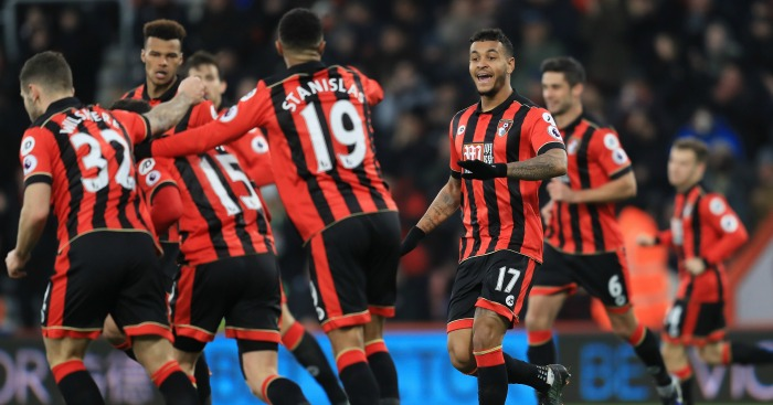 Bournemouth: Celebrate Joshua King's goal