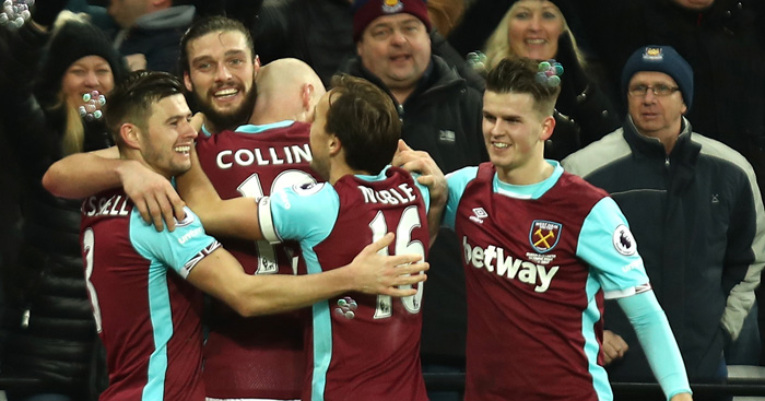 Andy Carroll: Moral at West Ham is 'fantastic'