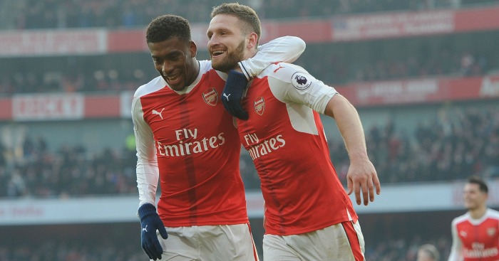 Shkodran Mustafi: Scores winner for Arsenal