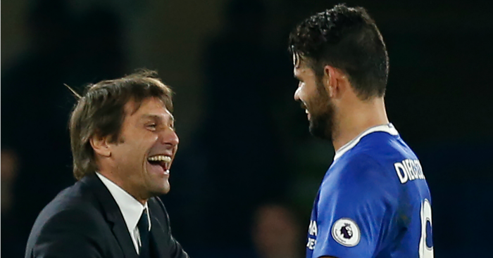 Antonio Conte: Hopeful about Costa