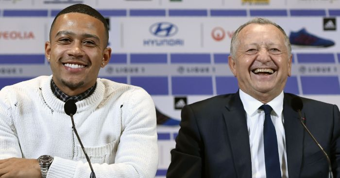 Memphis Depay: Says he is in 'top form'