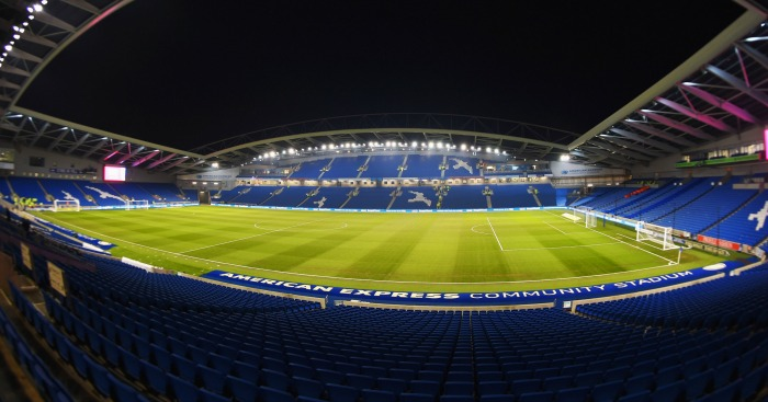 Amex Stadium: Ready for action