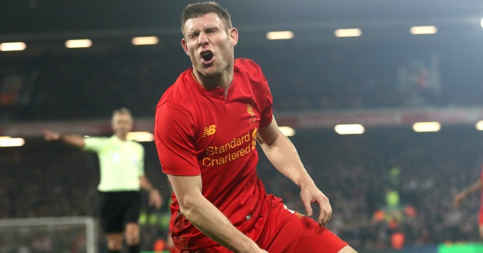 James Milner: Shows his frustration