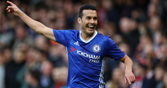 Pedro: Scored against Brentford