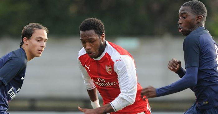 Kaylen Hinds: Leaves Arsenal on loan