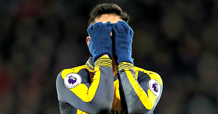 Alexis Sanchez: Visibly frustrated against Bournemouth