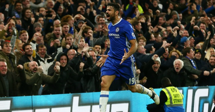 Diego Costa: Scored in 4-2 win over Stoke
