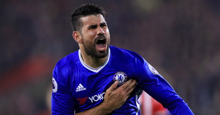 Diego Costa: Left out against Leicester