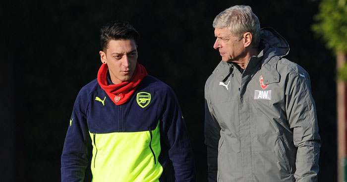 Mesut Ozil: Arsenal future unclear