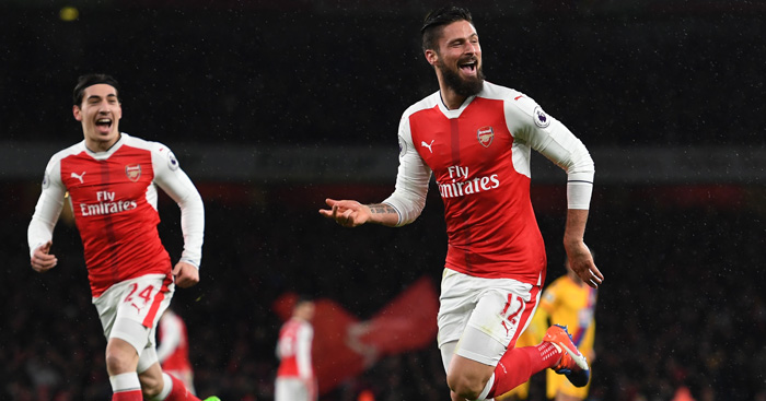 Olivier Giroud: Happy with recent form