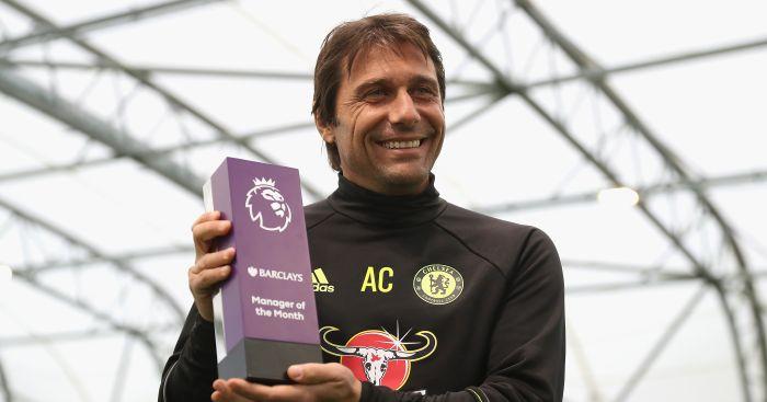 Antonio Conte: Three in a row for Chelsea boss