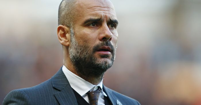 Pep Guardiola: In no mood for questions