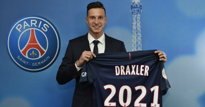 Julian Draxler: Had interest from Arsenal