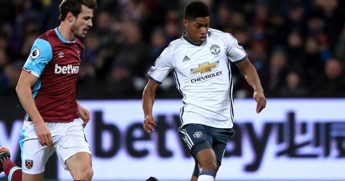 Marcus Rashford: Linked with loan move