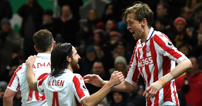 Peter Crouch: Rises to the occasion