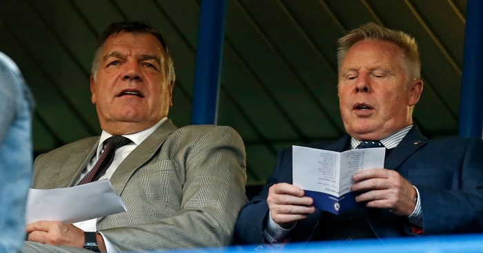 Sam Allardyce: Brought in Sammy Lee