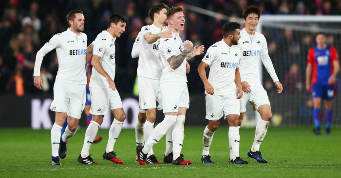 Swansea City: Snatch late win