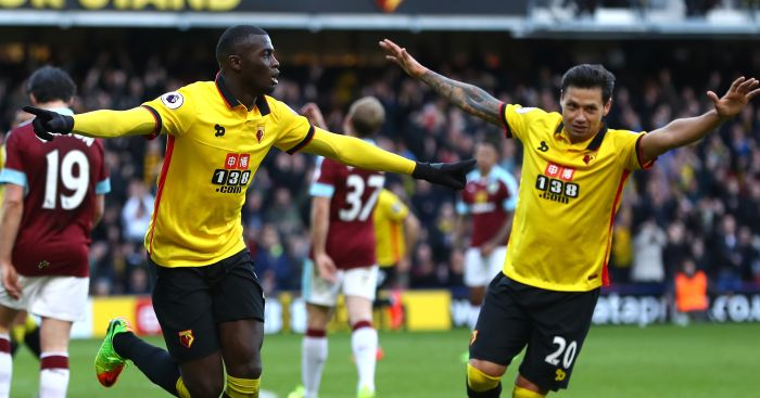 M'Baye Niang: First Watford goal