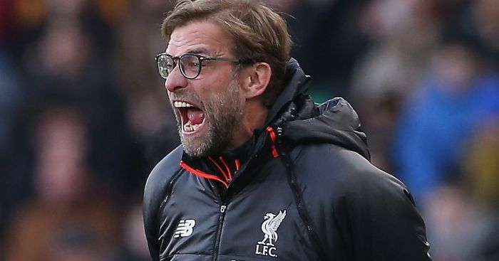 Jurgen Klopp: Vocal on the sidelines