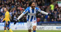 Isaiah Brown: Scores Huddersfield's opener
