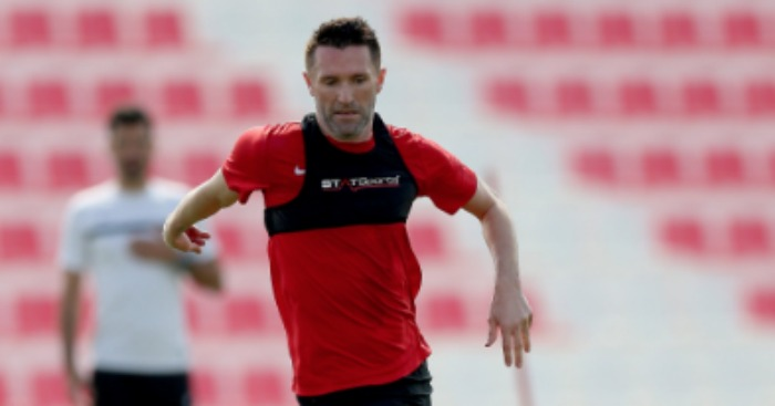 Robbie Keane: Training with Al Ahli