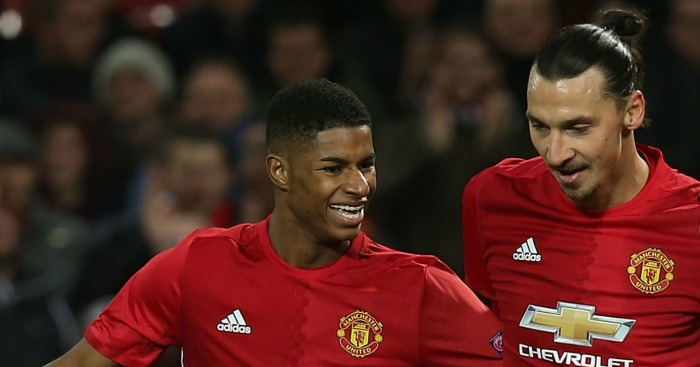 Marcus Rashford: Thankful for Zlatan