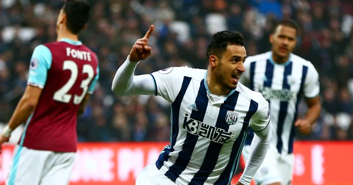 Nacer Chadli: Carves open Hammers defence