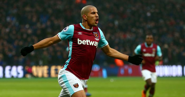 Sofiane Feghouli: Equalises for Hammers