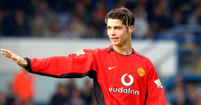 Cristiano Ronaldo: Joined United back in 2003