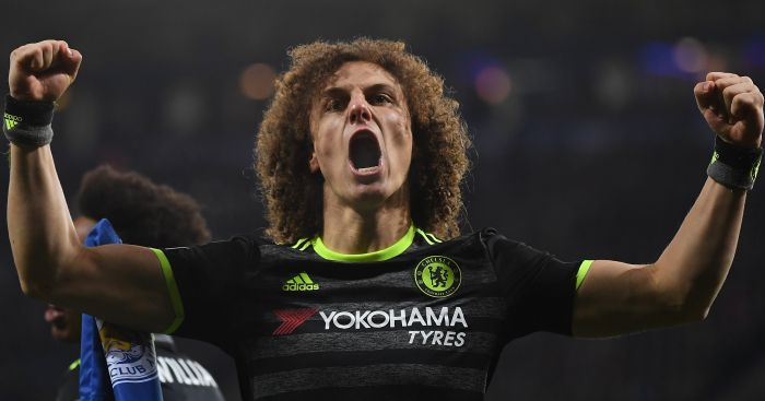 David Luiz: Has a little pain in his knee