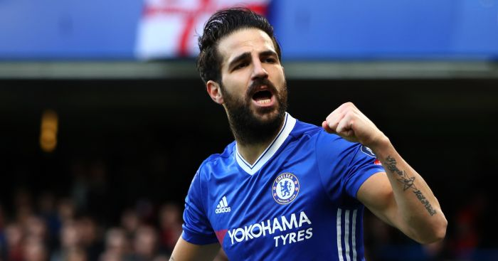 Cesc Fabregas: Staying put