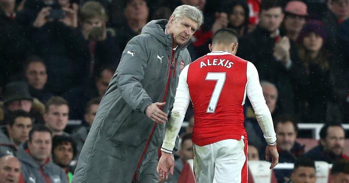 Alexis Sanchez: Drops exit hint?