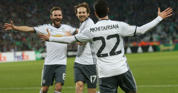 Henrikh Mkhitaryan: Scored the winner