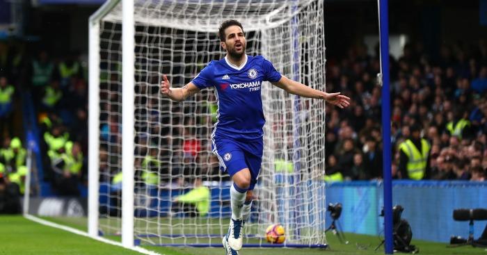 Cesc Fabregas: Fired Chelsea ahead