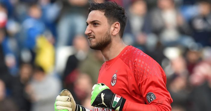 Gianluigi Donnarumma: Linked with Man United switch
