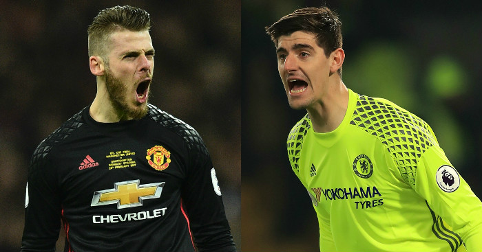 David De Gea Thibaut Courtois Linked with Real Madrid