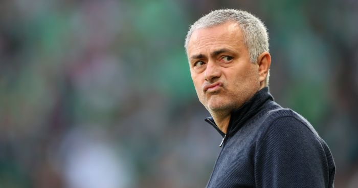 Jose Mourinho: Faces former club Chelsea on Monday night