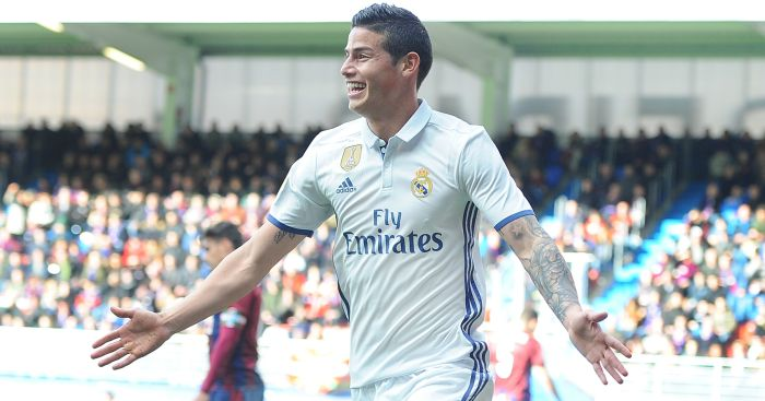 James Rodriguez: Set to stay at Real Madrid
