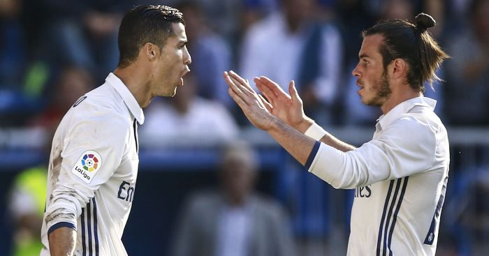 Gareth Bale: Praise for Cristiano Ronaldo