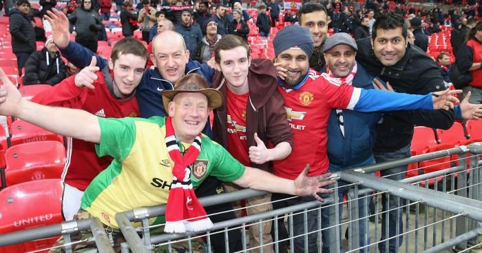 Man United fans: Warned to be careful in Russia