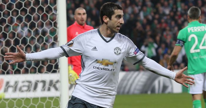 Henrikh Mkhitaryan: Is available again after injury
