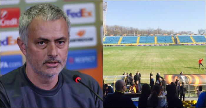 Jose Mourinho: Pitch concerns