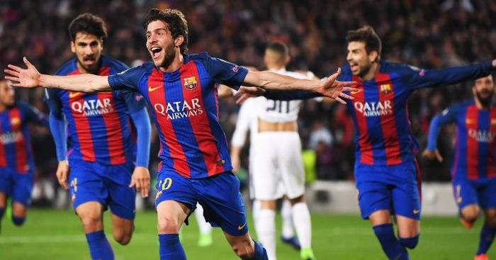 Barcelona: Stunned PSG in the Champions League