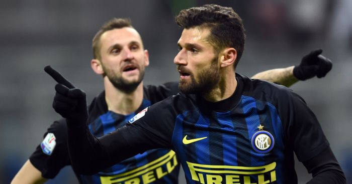 Antonio Candreva: A reported target for Chelsea