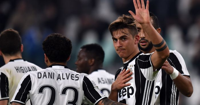 Paulo Dybala: Linked with a summer move to Arsenal