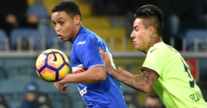 Luis Muriel: Liverpool said to be keen on striker