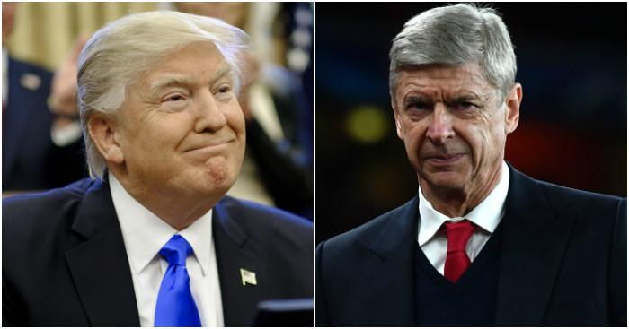 Arsene Wenger: Denies claims as 'fake news'